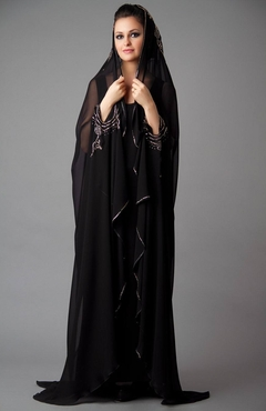 Fancy Embroidered Abaya